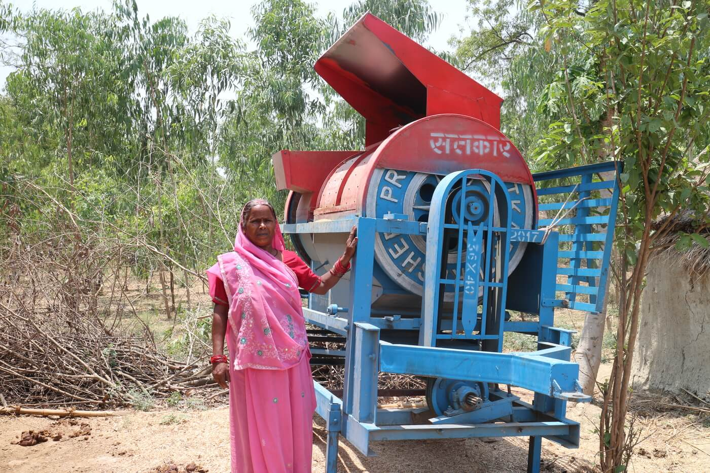 Indian microentrepreneur. Photo credit: Grameen Foundation India